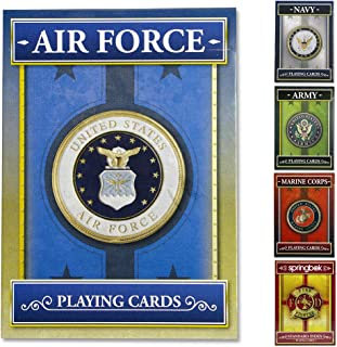 Springbok - United States Air Force Playing Cards - Officially Licensed 52 Playing Card Deck - Made in USA