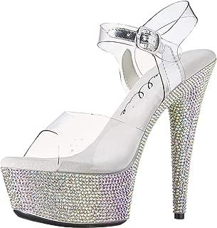 Ellie Shoes Womens 609-MAXINE Rhinestone