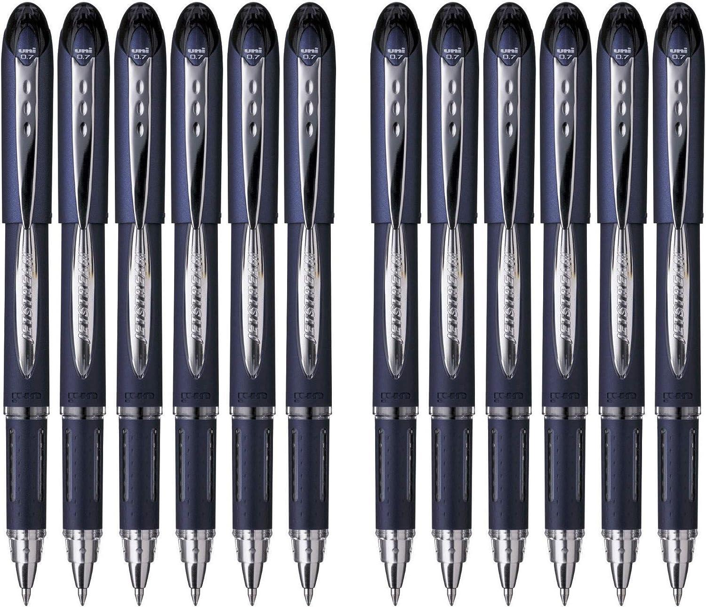 Uni Jetstream SX217 0.7mm Direct store Roller Ballpoint Pens - Save money B 12 Pack of