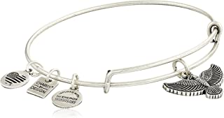 Charity By Design Spirit of The Eagle Charm Expandable Bangle Bracelet