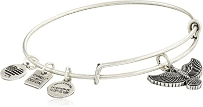 Alex and Ani Charity By Design Spirit of The Eagle Charm Expandable Bangle Bracelet