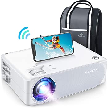 """VANKYO Performance V630W WiFi Projector, Full HD Native 1080P Projector w/ 300"""" Display, Supports 5G Synchronize Smartphone Screen & ±50° 4D Keystone Correction, Compatible w/ TV Stick/Smartphone/PS5"""
