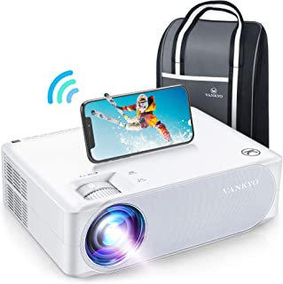 "VANKYO Performance V630W WiFi Projector, Full HD Native 1080P Projector w/ 300"" Display, Supports 5G Synchronize Smartphon..."