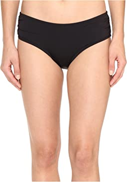MICHAEL Michael Kors Villa Del Mar Shirred Bikini Bottom