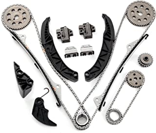 SCITOO Timing Chain Kit fits for 06-11 Hyundai Azera Kia Sorento Sedona 3.3L 3.8L DOHC 24v