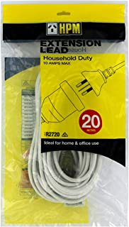 HPM R2720 Extension Lead, White