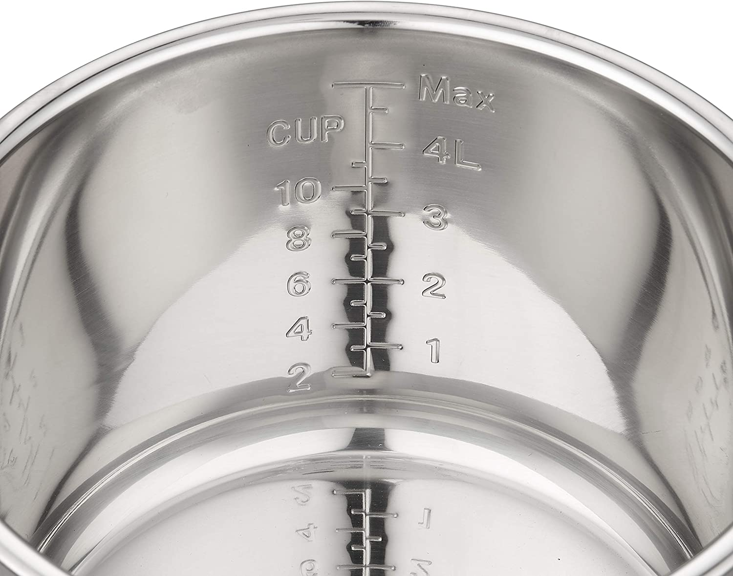 GJS Gourmet Stainless Steel Inner Pot Compatible with 6-Quart Yedi Total Package 9-in-1 Instant Pressure Cooker GV001 This pot is not created or sold by Yedi. 6 Quart, Stainless Steel