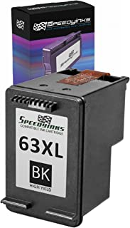 Speedy Inks Remanufactured Ink Cartridge Replacement for HP 63XL F6U64AN High Yield (Black)