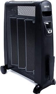 comprar comparacion Duronic HV052 Radiador Eléctrico 1500W de Panel de Mica - Estufa sin aceite que calienta en 1 minuto – Control por Pantall...