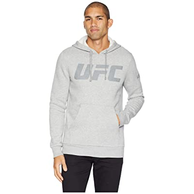 Reebok Ufc Fg Pullover Hoodie (Medium Grey Heather) Men