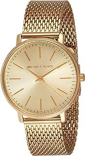 Michael Kors Pyper Women's Gold Dial Stainless Steel Analog Watch - MK4339