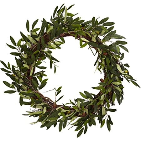 Olive Leaf Wreath Olive Branch Wreath House Warming Olive Wreath Peace Wreath