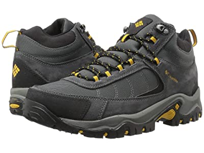 Columbia Granite Ridge Mid Waterproof (Dark Grey/Golden Yellow) Men