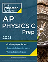 Download Book Princeton Review AP Physics C Prep, 2021: Practice Tests + Complete Content Review + Strategies & Techniques (College Test Preparation) PDF