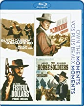 Butch Cassidy and the Sundance Kid / Ten Comancheros / Fistful of Dollars / The Horse Soldiers 4 Movie Collection