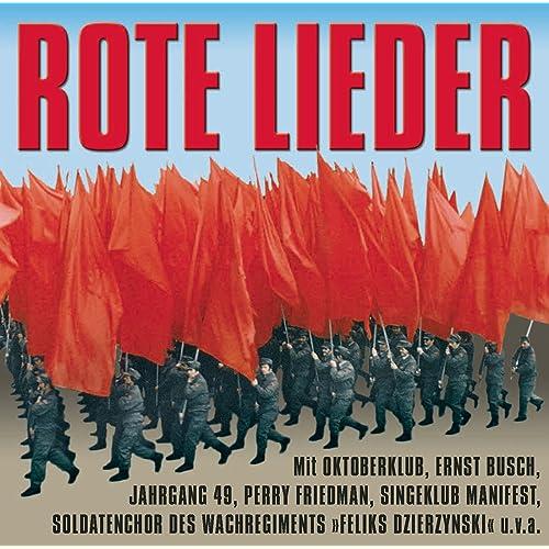 Rote Lieder Die Besten Politischen Lieder Aus Der Ddr Von Various Artists Bei Amazon Music Amazon De