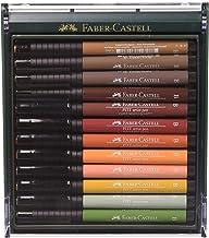 Faber-Castell Autumn Colours Pitt Brush Pen (Pack of 12)