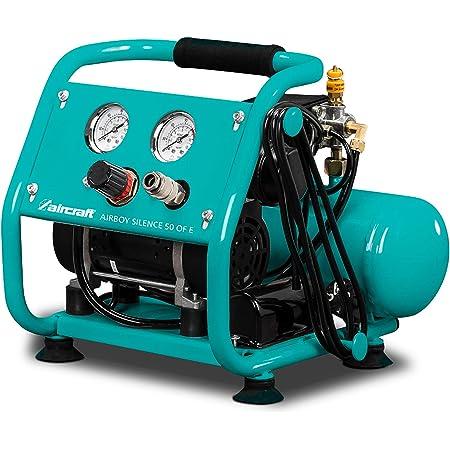 Aircraft Mobiler Kolbenkompressor Compact Air 265 10 E Behälterinhalt 10 L Kompakte Bauweise Druckminderer 2005261 Baumarkt