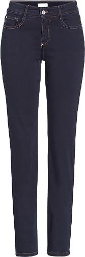 MAC Damen Jeans Angela 5240 schwarz D999