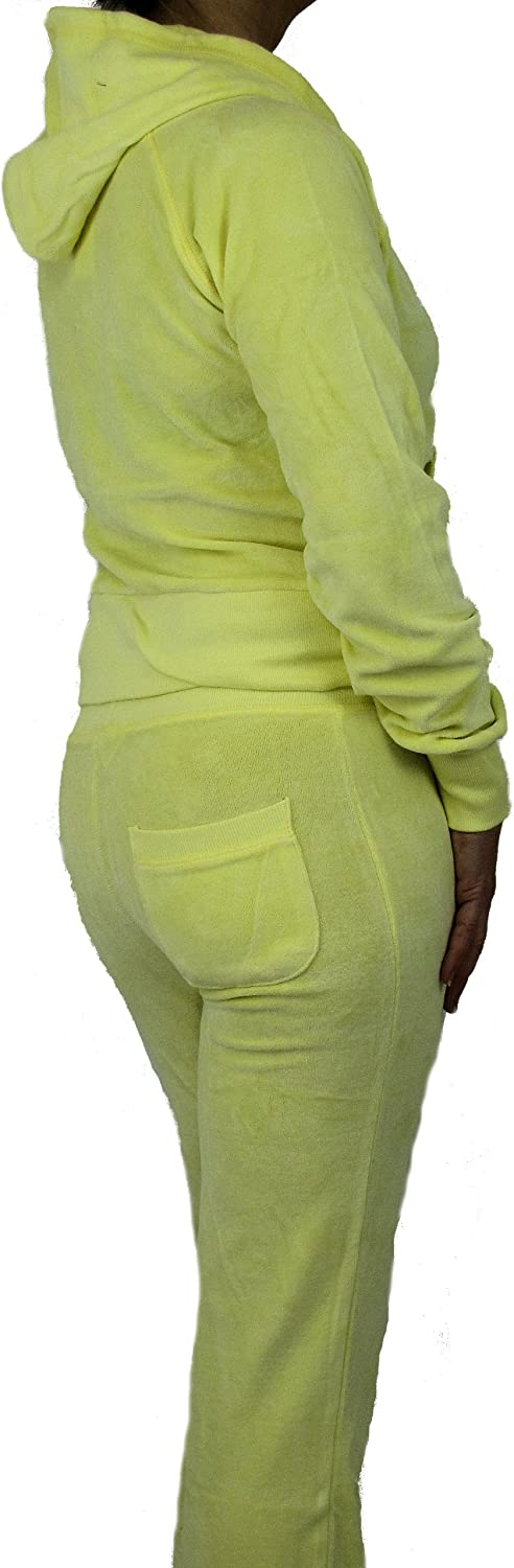 Love Lola/® Womens Velour Tracksuits Ladies Full Lounge Suits Hoodys Joggers Heart Designer Inspired