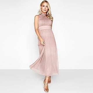 Little Mistress A Line Dress For Women - Mink - L