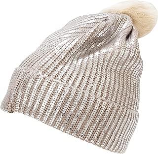 Rock Jock Womens/Ladies Metallic Knitted Ski Hat