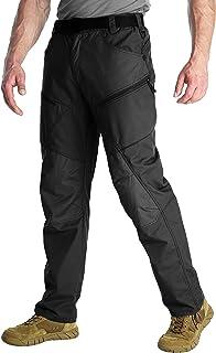 سروال تنزه للرجال من انتارتيكا، خفيف الوزن ومقاوم للماء، سروال كارجو كاجوال