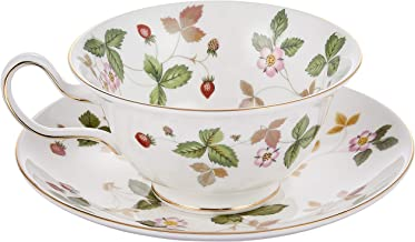Wedgwood ( Wedgwood ) Wild Strawberry tea cup and saucer Peony [ parallel import goods ]