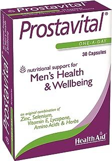Health Aid Prostavital (Zinc, Selenium, Vit E, Lycopene ++) - Blister Pack 30 Capsules