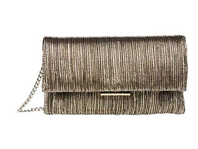 Loeffler Randall Tab Clutch (Gold) Clutch Handbags