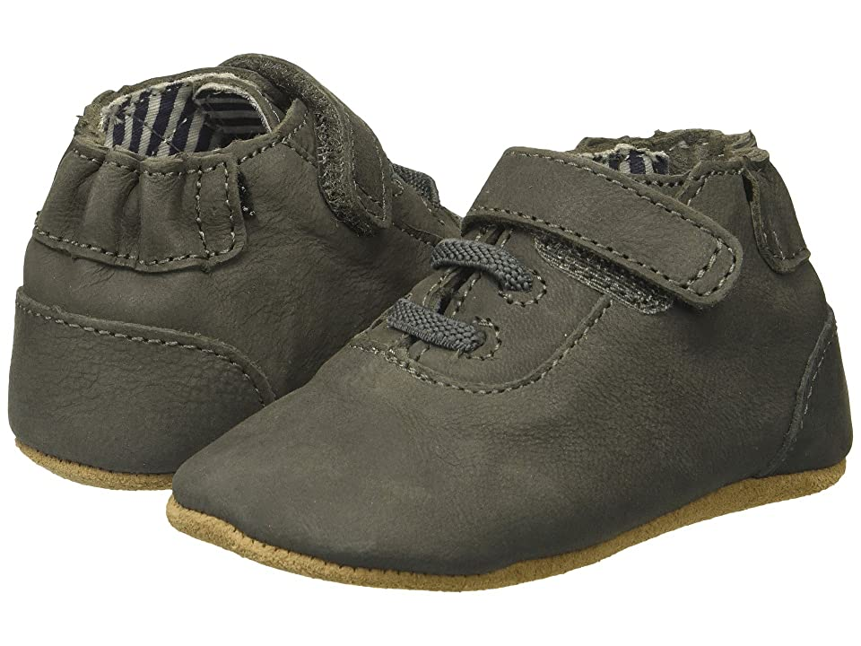 Robeez George First Kicks (Infant/Toddler) (Grey) Boy