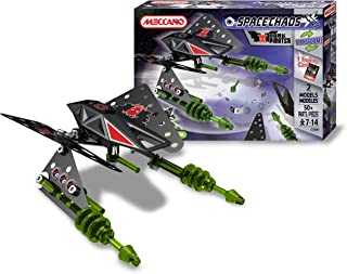 Meccano - 803150B - Jeu de Construction - Space Chaos - Raider Dark Pirates