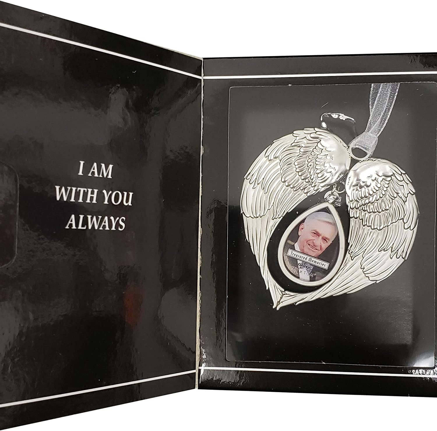Ganz Angel Wings half Memorial or 2021 new Ornament Remembrance Hanging Photo