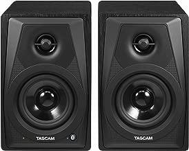 Tascam VL-S3BT 2-Way Powered Desktop Monitor Speakers With Bluetooth Wireless, 14 Watts
