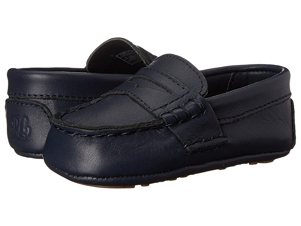 Polo Ralph Lauren Kids Tellie (Infant/Toddler) (Navy) Kids Shoes