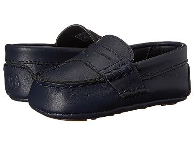 Polo Ralph Lauren Kids Tellie (Infant/Toddler) (Navy) Kids Shoes