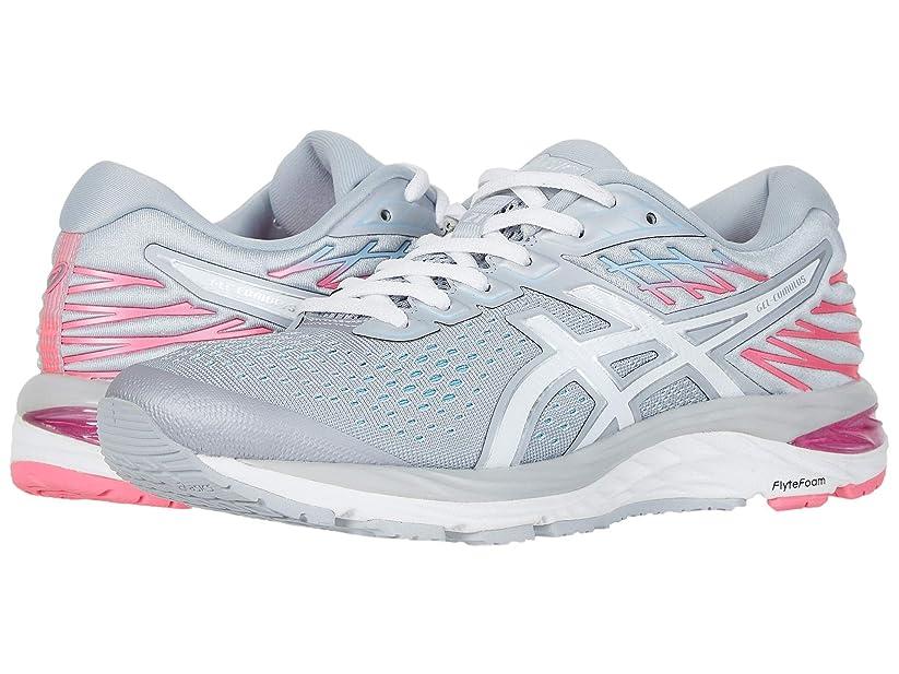 [アシックス] レディースランニングシューズ?スニーカー?靴 GEL-Cumulus 21 Piedmont Grey/White 7 (24cm) D - Wide [並行輸入品]