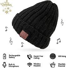 Bluetooth Hat Bluetooth Beanie Smart Hat Built-in Stereo Speaker Mic Wireless Headphones Beanie Sync Call Music for All Smart Phones Gift Men Women Boys Girls Boyfriend