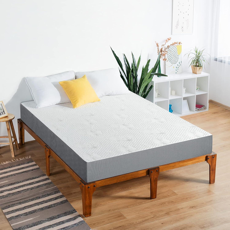 Olee Max 55% OFF Sleep Ranking TOP8 7 Inch Ventilated Gel Foam Memory Mattress Infused C