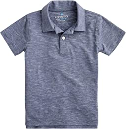 Short Sleeve Athletic Polo Shirt (Toddler/Little Kids/Big Kids)