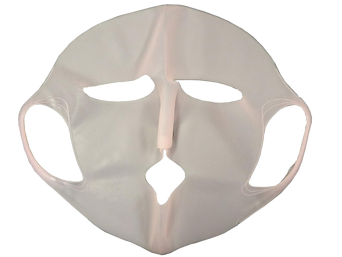 くさび合金受け入れシリコンマスク ピンク 1枚
