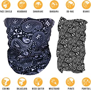 CyberBeast Face Mask Bandana | Skull Masks Headwear for Outdoors Sports and Festivals