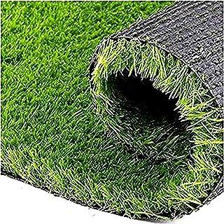 Go Hooked High Density Artificial Grass Carpet Mat for Balcony, Lawn, Door, Garden etc. (4x10 Feet)