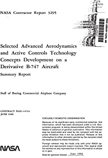 Selected advanced aerodynamics and active controls technology concepts development on a derivative B-747 aircraft (English Edition)