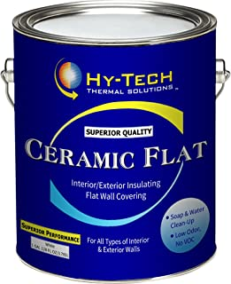Insulating Ceramic Flat Paint - 1 Gallon