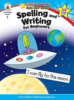 Spelling and Writing for Beginners, Grade 1 (Home Workbooks)