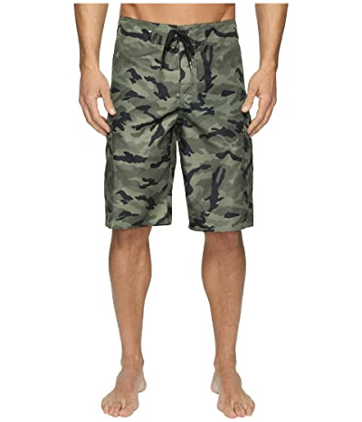Quiksilver Manic Camo 22 Boardshorts (Forest Night) Men