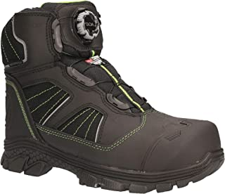 RefrigiWear Men's Extreme Hiker Waterproof Thinsulate Insulated Freezer Boots with Boa Fit System For Lacing