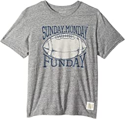 Sunday Monday Funday Short Sleeve Tri-Blend Tee (Big Kids)