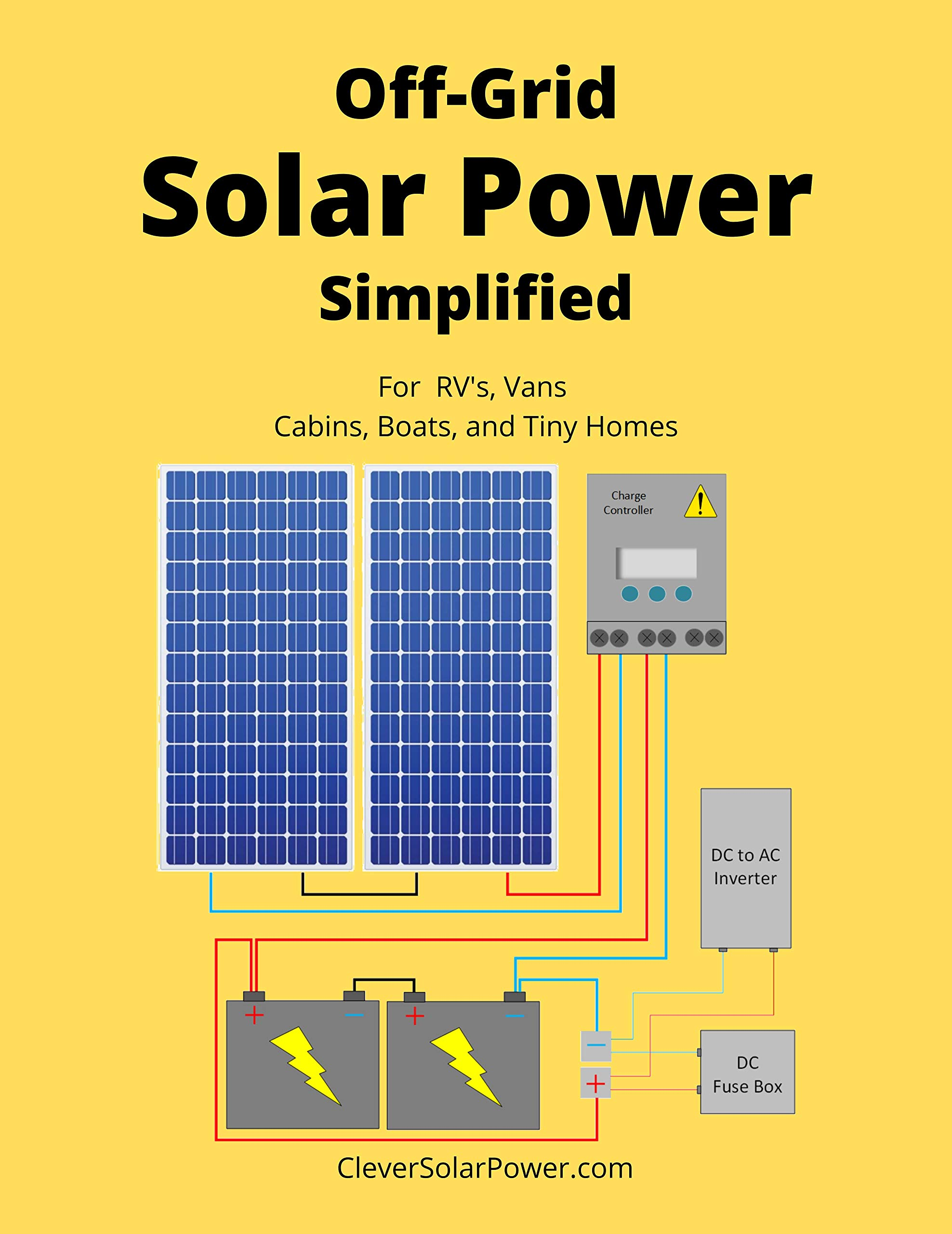 Download Off Grid Solar Power Simplified: For Rvs, Vans, Cabins, Boats And Tiny Homes (English Edition) 